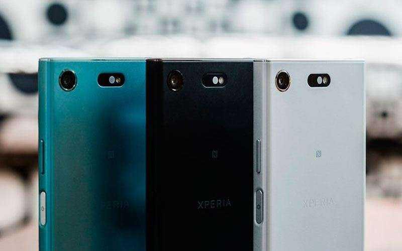Sony Xperia XZ1 Compact фото