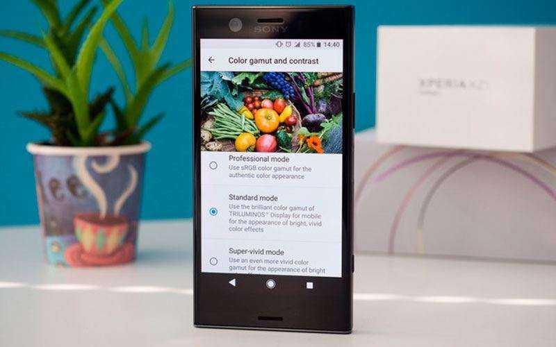 Экран Sony Xperia XZ1 Compact