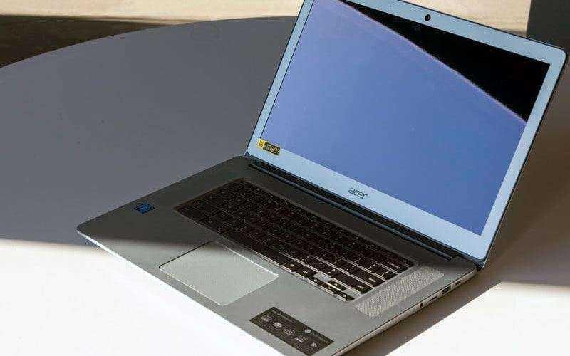 Обзор Acer Chromebook 15 2017 — Надёжный хромбук с высокой производительностью
