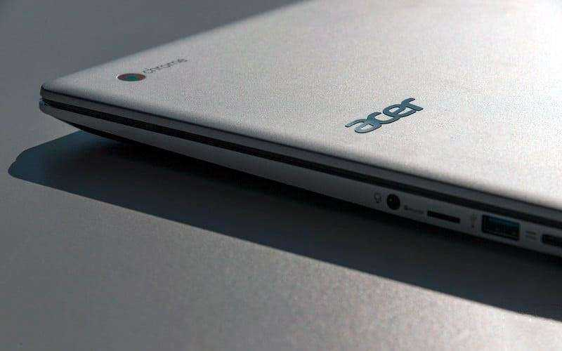 Разъёмы Acer Chromebook 15 2017