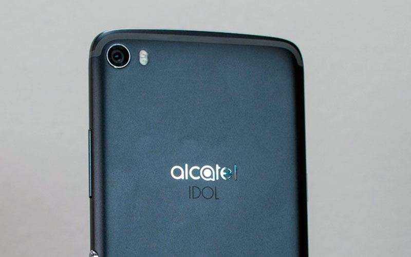 Камера Alcatel Idol 5
