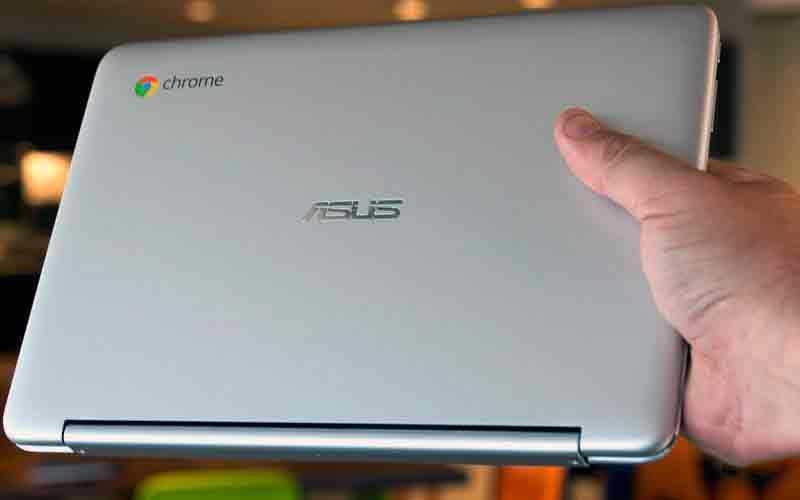 Внешний вид Asus Chromebook Flip C101PA