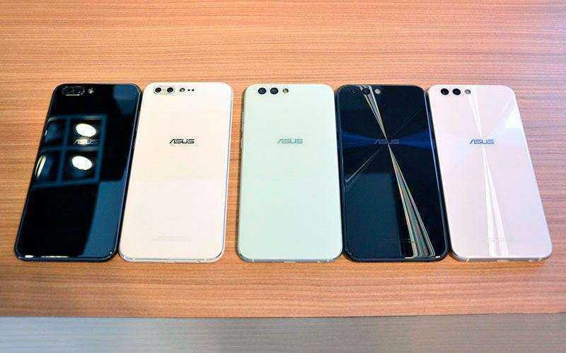 Цвет Asus Zenfone 4 и Asus Zenfone 4 Pro
