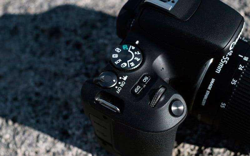 Canon EOS Rebel SL2 управление