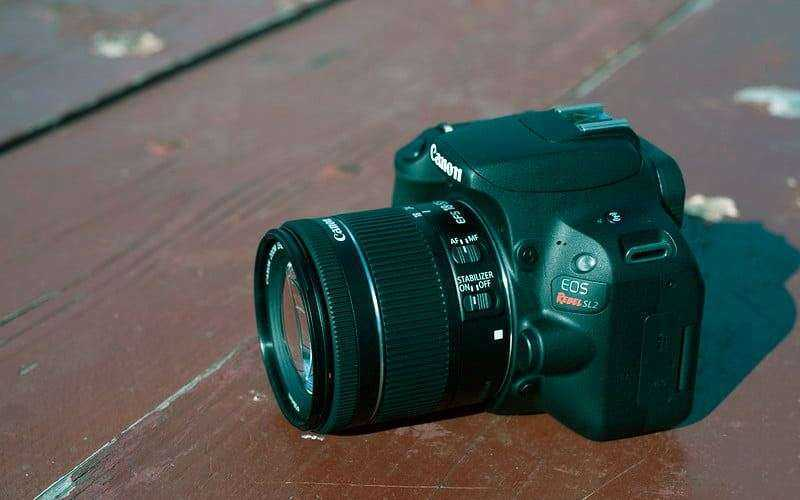Конструкция Canon EOS Rebel SL2