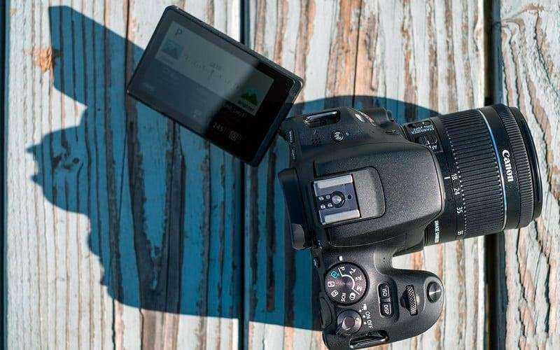 Зеркальная камера Canon EOS Rebel SL2