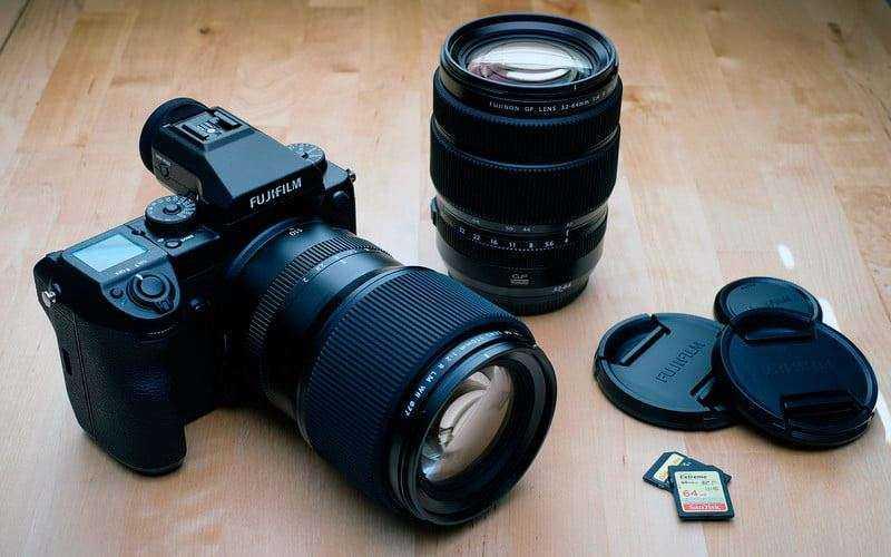 Конструкция и характеристики Fujifilm GFX 50S