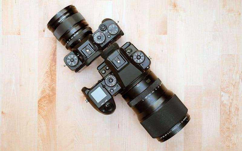 Дизайн Fujifilm GFX 50S
