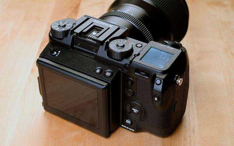 Fujifilm GFX 50S на проктике