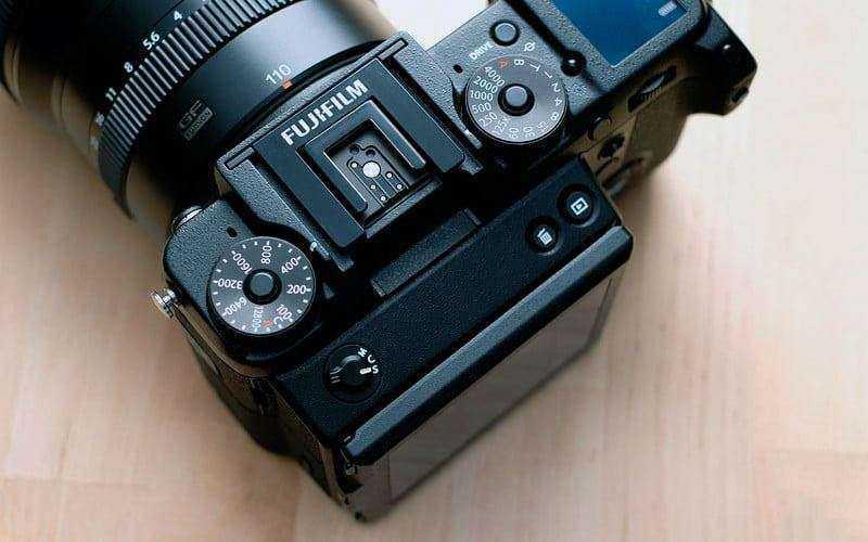 Управление Fujifilm GFX 50S
