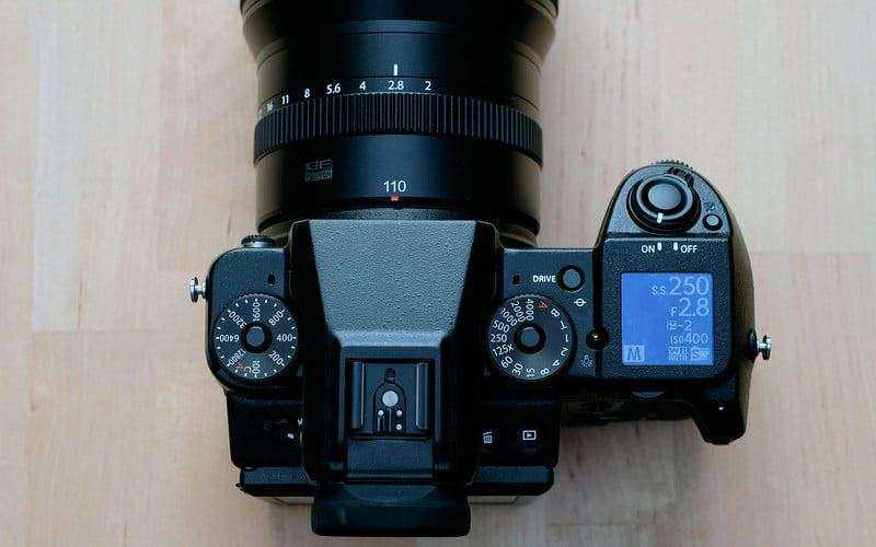 Среднеформатная беззеркалка Fujifilm GFX 50S