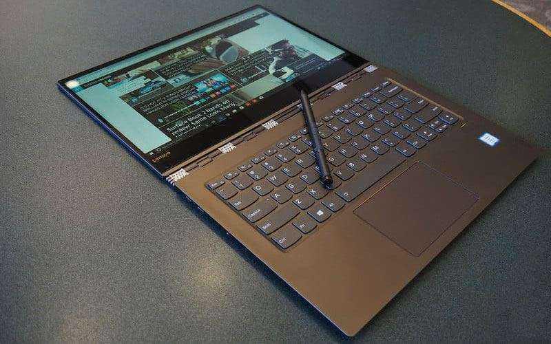 Внешний вид Lenovo Yoga 920 2017