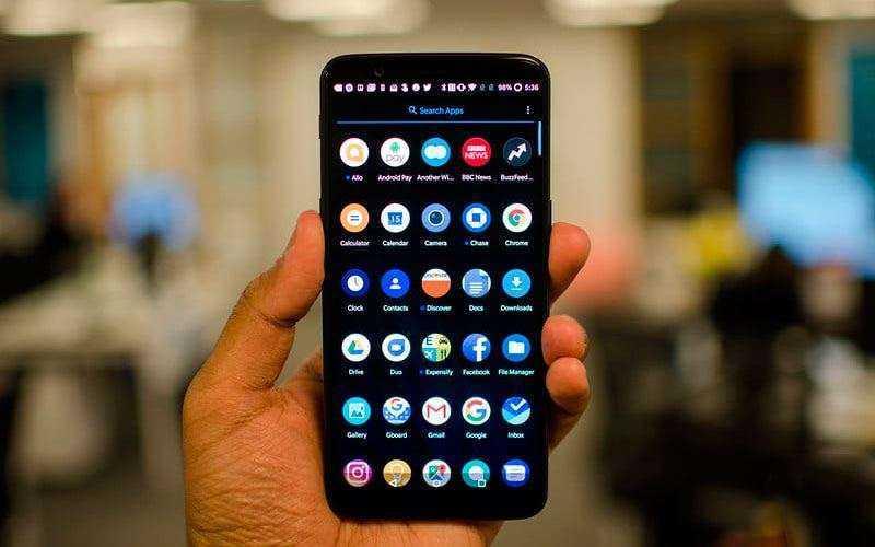 ПО в OnePlus 5T