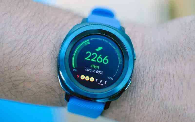 Режимы Samsung Gear Sport