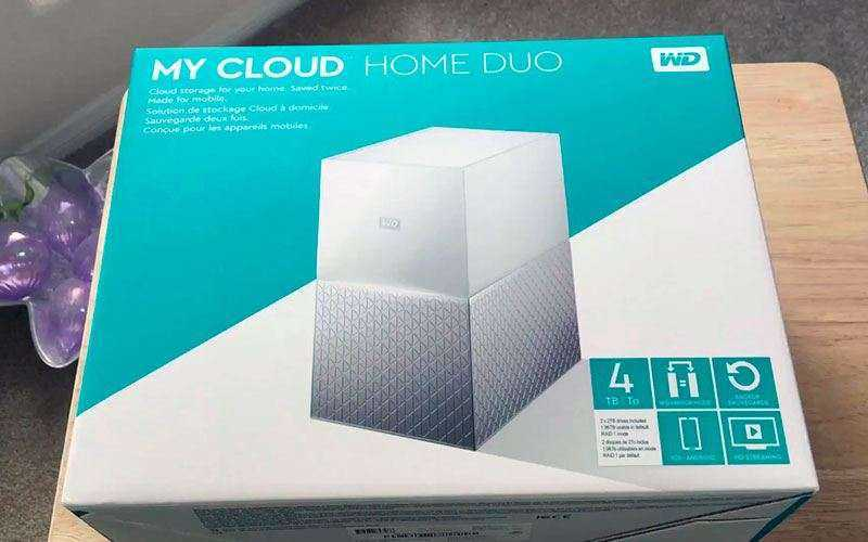 Western Digital Dual Cloud Home Duo