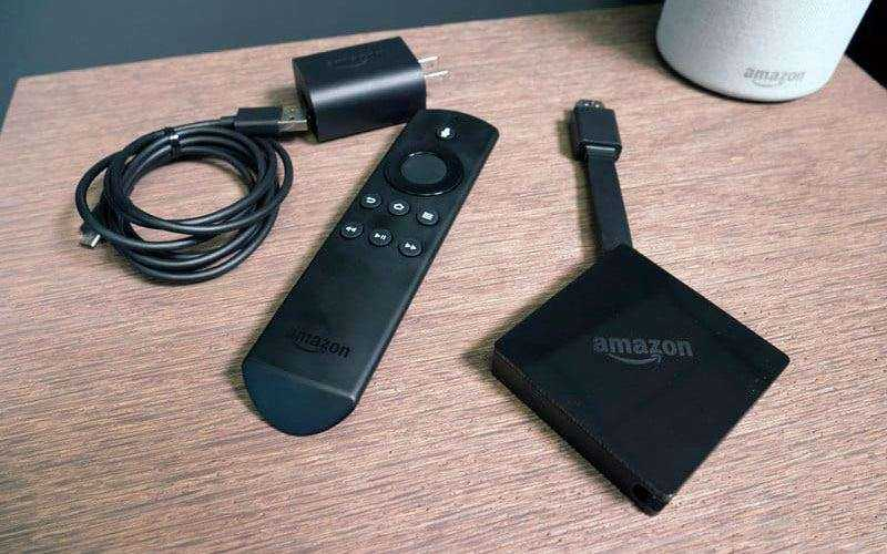 Amazon Fire TV из коробки