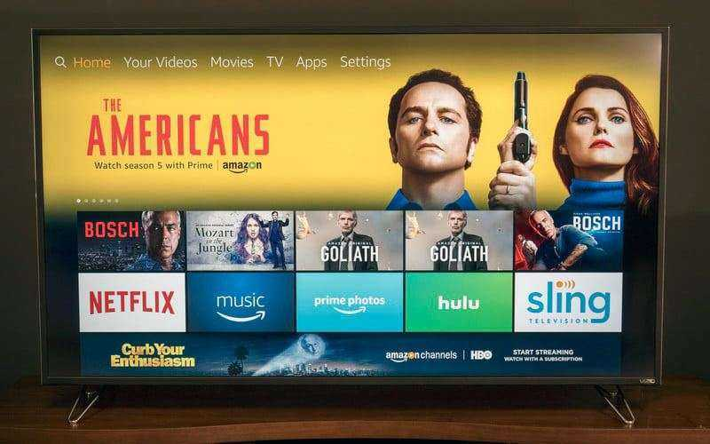 Поддержка Amazon Fire TV