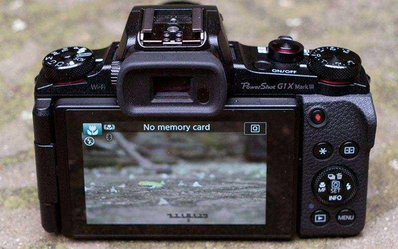 Особенности Canon G1X Mark III