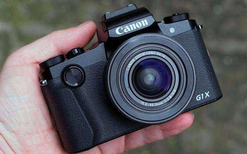 Автофокус Canon G1X Mark III