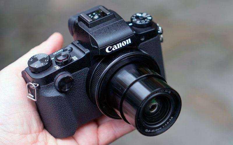 Качество изображения Canon G1 X Mark III