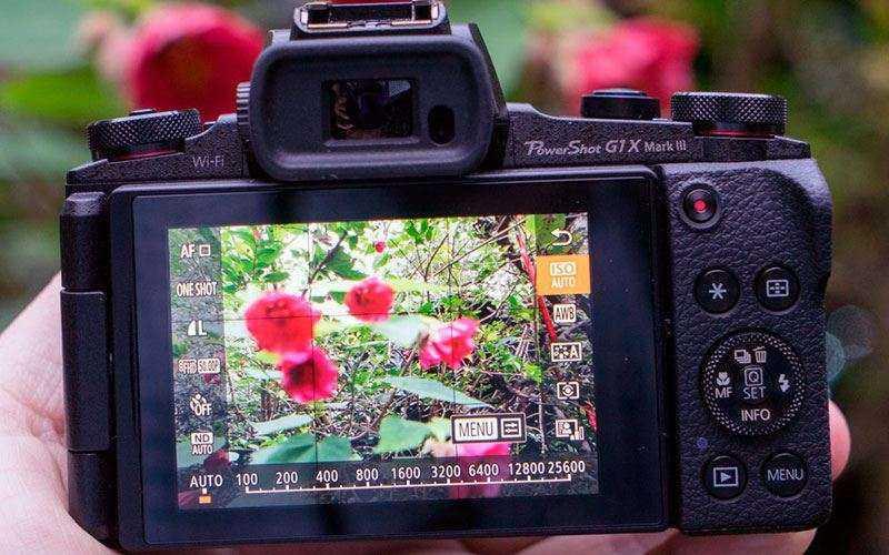 Водоискатель Canon G1X Mark III