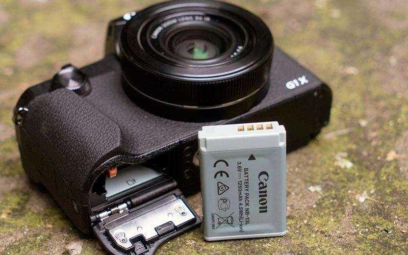 Аккумулятор Canon G1X Mark III