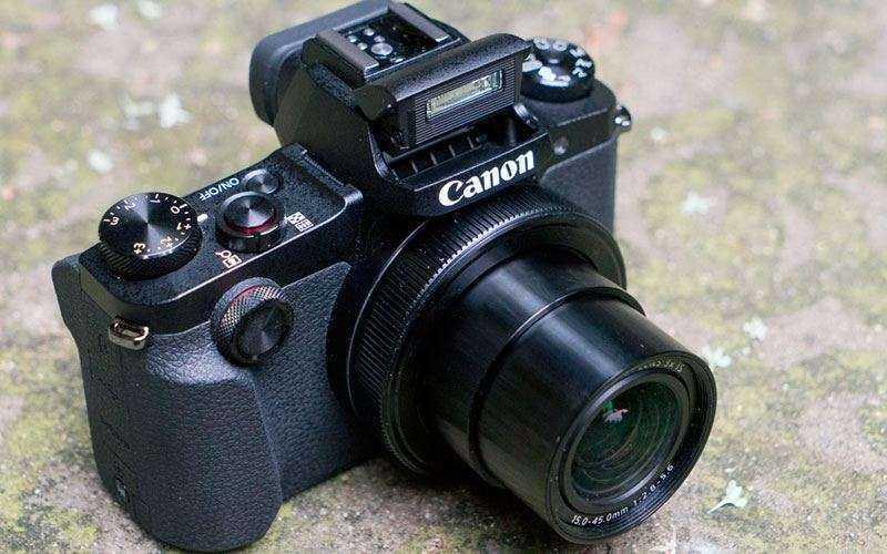 Камера Canon G1X Mark III