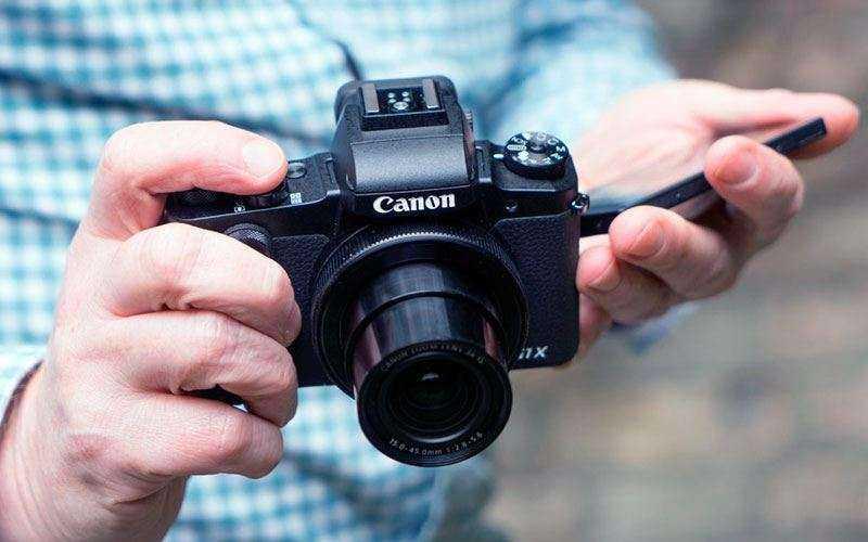 Canon G1X Mark III на практике