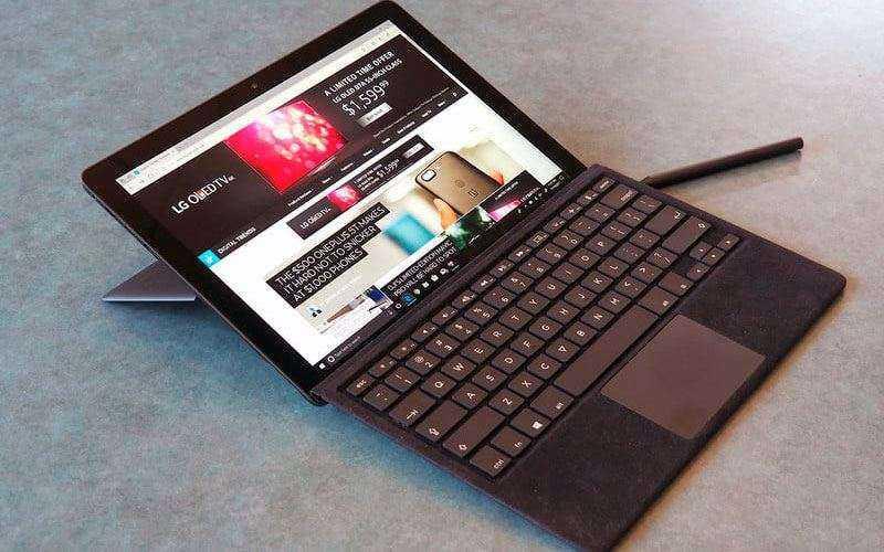 Обзор Eve V — Гибридный планшет трансформер замена Surface Pro
