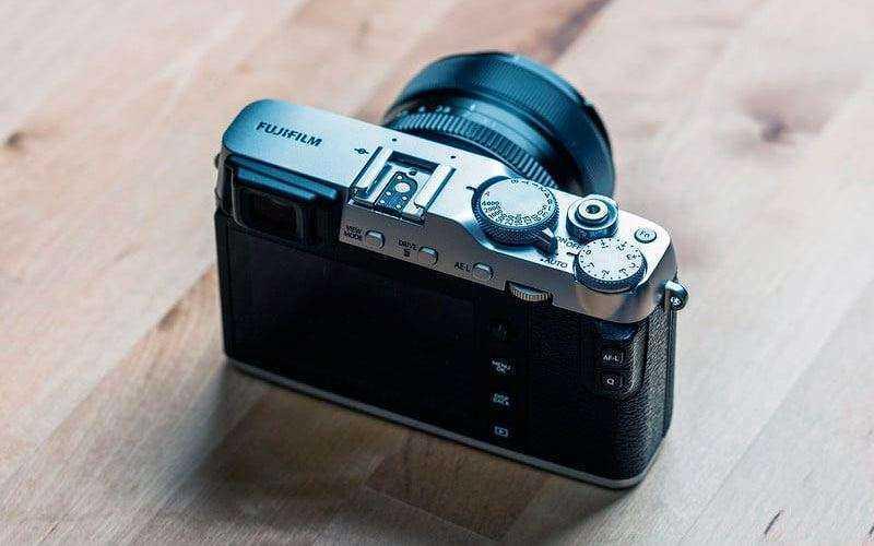 Особенности конструкции Fujifilm X-E3