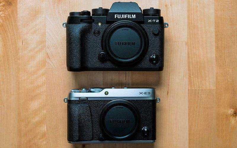 Сравнение Fujifilm X-E3 и X-T20