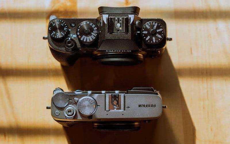 Сравнение Fujifilm X-E3 и X-Pro2