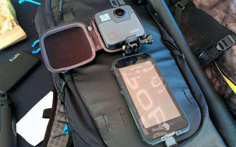 Краткий обзор GoPro Fusion — 360-градусная 5K экшн-камера от известного бренда