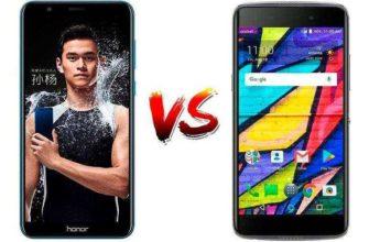 Сравнение Alcatel Idol 5 vs Huawei Honor 7X — Недорогих Android-телефонов