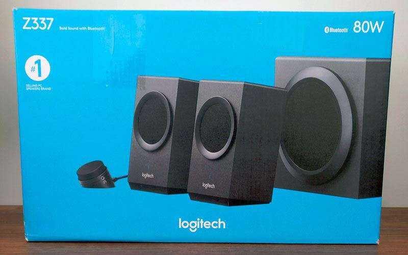 Logitech Z337 из коробки