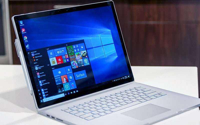 Клавиатура Microsoft Surface Book 2 и тачпад