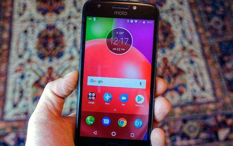 ОС Moto E4