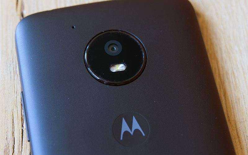 Камера Moto E4