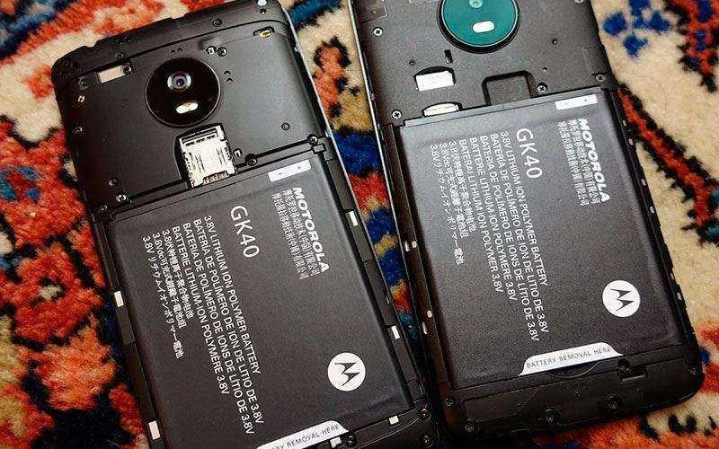 Батарея Moto E4