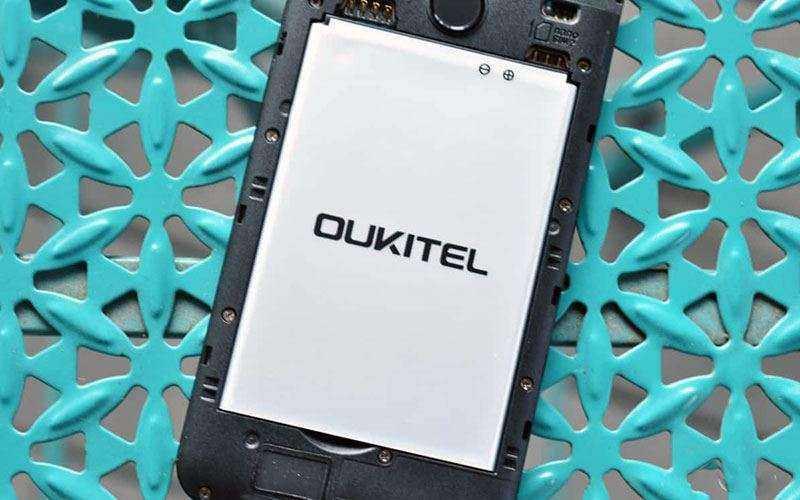 Съёмная батарея OUKITEL C8