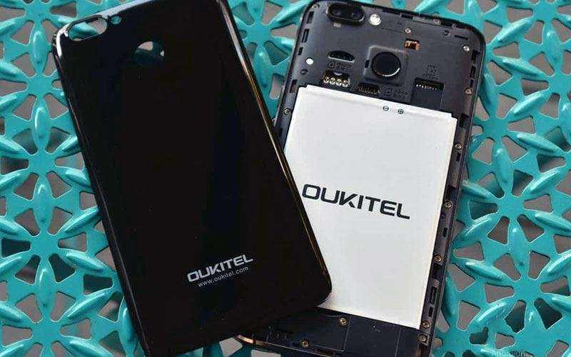 Съёмная батарея OUKITEL U22