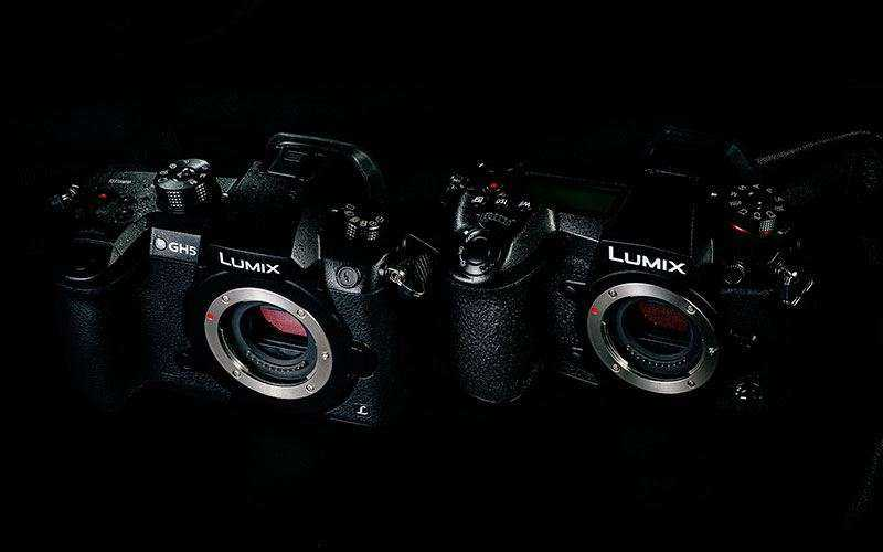 Дизайн Panasonic Lumix DC-G9