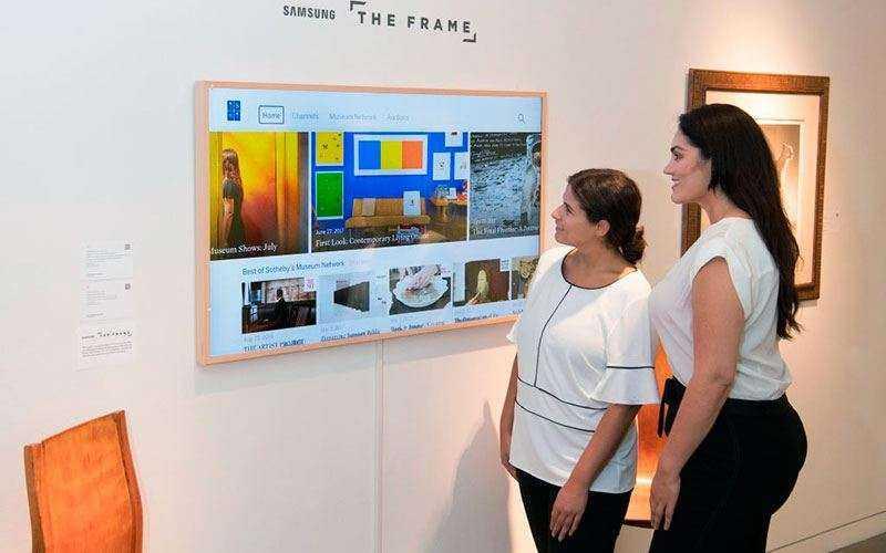 Телевизор картина Samsung The Frame — Обзор необычного телевизора для дома и студии