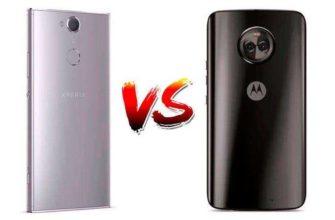 Сравнение Sony Xperia XA2 Ultra vs Motorola Moto X4 — Средних Android-смартфонов