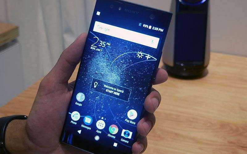 ПО в Sony Xperia XA2 Ultra и Motorola Moto X4