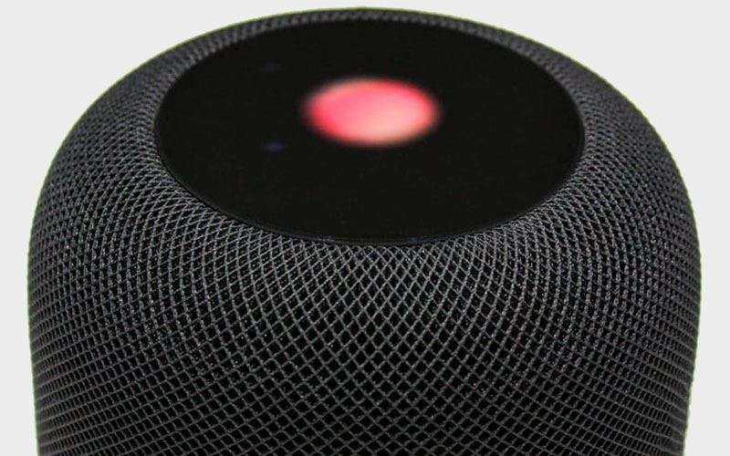 Apple HomePod в чёрном