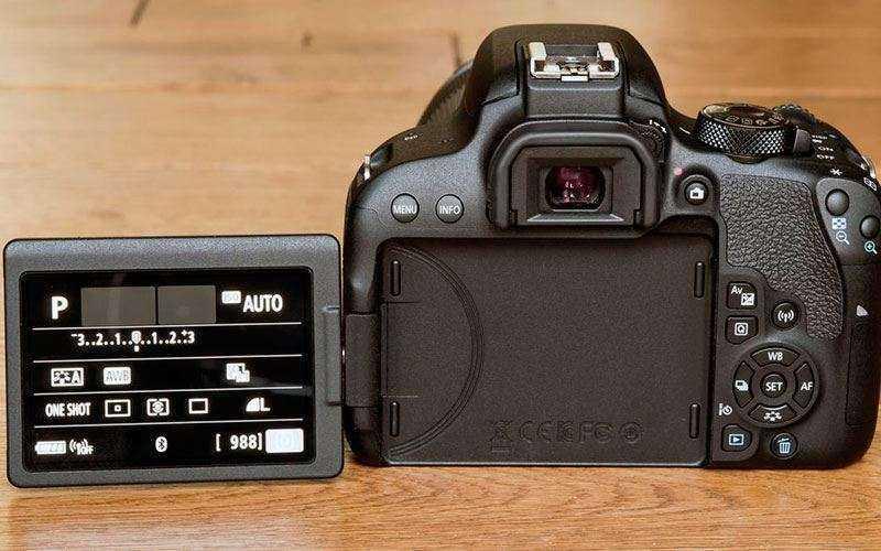 Canon EOS 800D отзывы