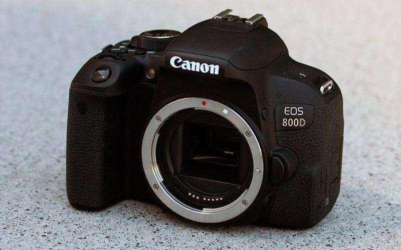 Тест Canon EOS 800D