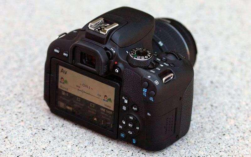 Подключения Canon EOS 800D
