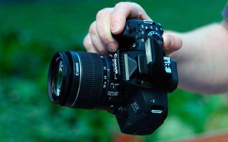 Canon EOS 800D видео